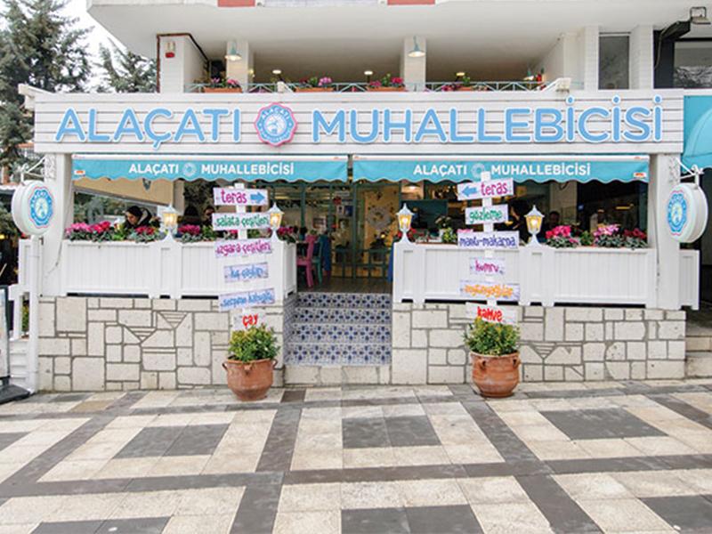 Alaçatı Muhallebicisi, Kültür Tasarımı